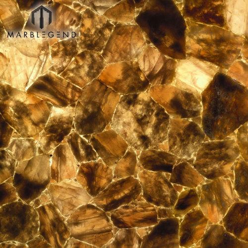 أفضل الأحجار الكريمة للإسورة ديكور بلاط الكوارتز الأزرق