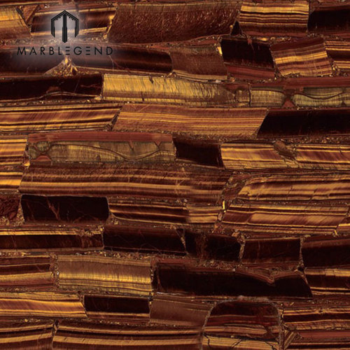 PFM Luxury Tiger Eye Gold Jasper Slabs Semi Precious Stone