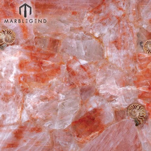 La mejor imagen Azulejos de piedra semipreciosa Azulejos de cuarzo hematoide