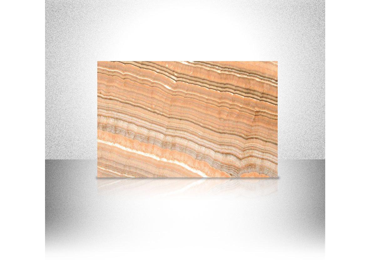 PFM Natural Stone Polished Arco Iris Vein Cut Onyx Marble Slab