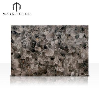 Precious Stone Design Smoky Quartz Light Gemstone Tile