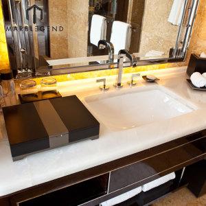 PFM Natural Backlit Onyx Panel Polished White Onyx Marble Slab Price
