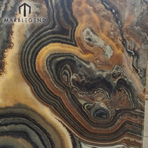 PFM الطبيعية أونيكس لوحة عاكس مصقول أسود الجزع الأحجار الكريمة الأسعار