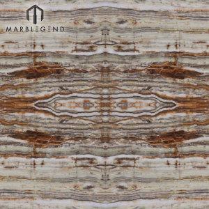 PFM Venta caliente Mejor imagen BookMatch Bamboo Green Light Onyx Tile