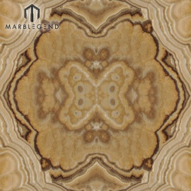 PFM BookMatch Yellow Cappuccino Onyx Slab Price