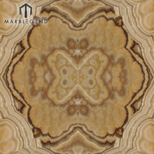 PFM BookMatch Yellow Cappuccino Onyx Slab Precio