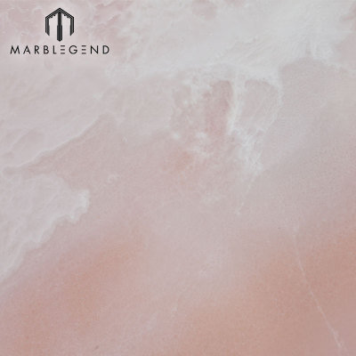 PFM Natural Backlit Pink Onyx Marble Panel Onyx Slabs Tiles Price