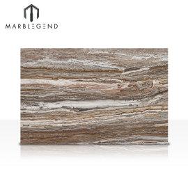 PFM الطبيعية المصقولة القديمة عرق الخشب قطع عقيق ألواح سعر Onyx الرخام