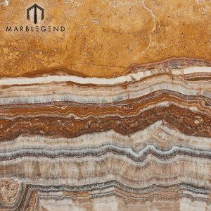 PFM Natural pulido Turquía Tiger Onyx Slabs Precio Onyx Marble