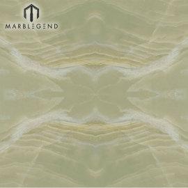 PFM Stone Pulido Jade Green Onyx Marble Stone Sile Onyx Floor Wall Tiles