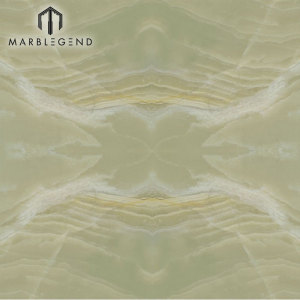 PFM Stone Polished Jade Green Onyx Marble Stone Slab Onyx  Floor Wall Tiles