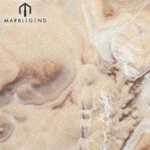 Retroiluminado chino Vivid Shades Shinning Cloud Jade Onyx Marble Slab Precio