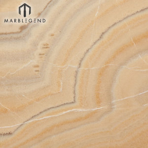 Chinese Natural Stone Backlit Picassu Onyx Marble Slab Price