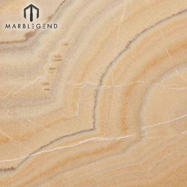 Precio de piedra natural chino retroiluminado de la losa de mármol de Picassu Onyx