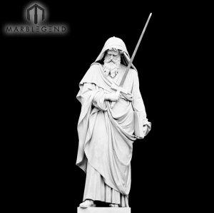 الرخام تمثال النحت الدينية 170cm تمثال الدينية