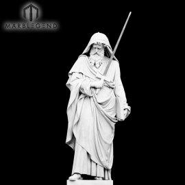 Jardín de mármol escultura 170cm figura religiosa estatua