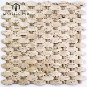 New Style Wall Tile Design Natural Stone Summit Giuseppe Marble Mosaic Tile