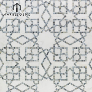 New design Popular White Marble Stone Mosaic Tile For Home