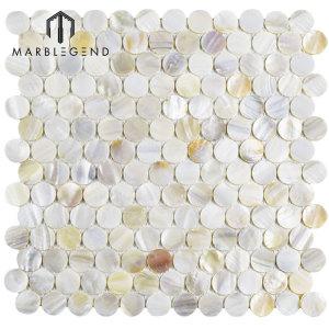Bathroom Mirror Wall Backsplash Fresh White Mother Of Pearl Shell Mosaic Tile