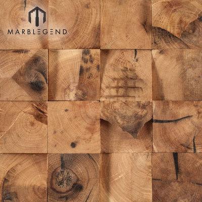 بلاط الجدران الخشبية الفسيفساء لون بني القديمة استعمارية استعمارية