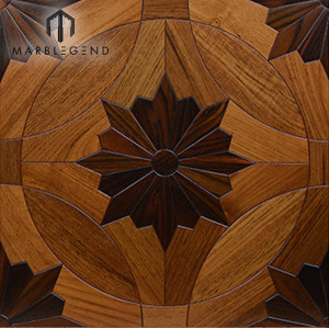 PFM Factory Price Composite Solid Wood Parquet Flooring Tiles For Project