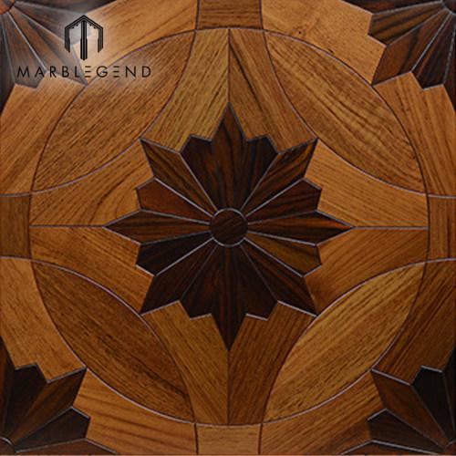 Tejas de suelo compuestas del entarimado de madera sólida del precio de fábrica de PFM para el proyecto