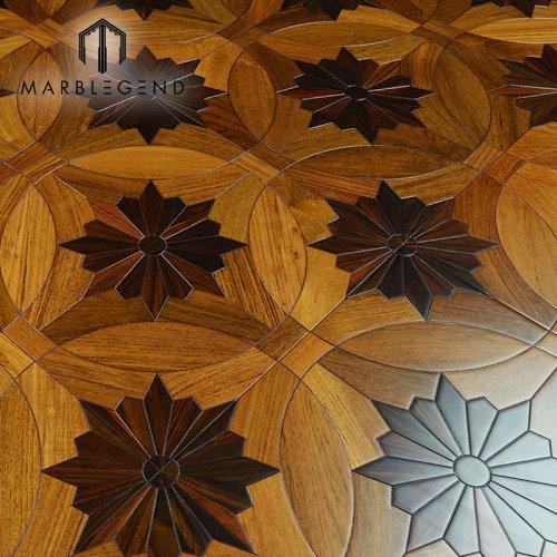 PFM سعر المصنع مركب الأرضيات الخشبية الصلبة بلاط الأرضيات لمشروع