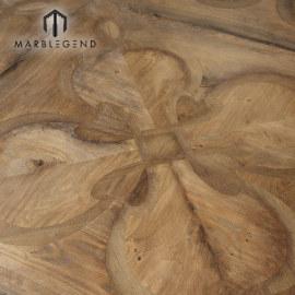Классический дизайн в помещении Используемые дубовые плитки из массива дерева