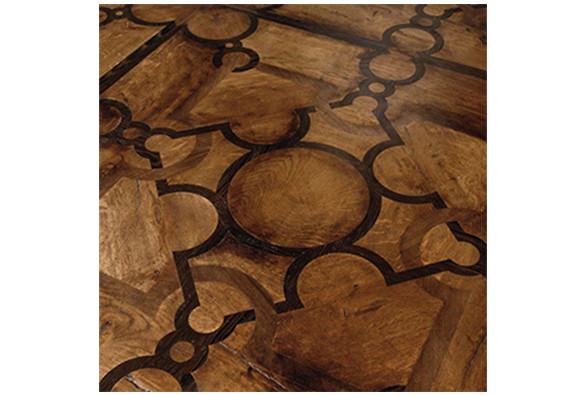 Luxury Design Stainless Steel Oak Wood Inlay Solid Wood Parquet - Oak tree hardwood parquet flooring