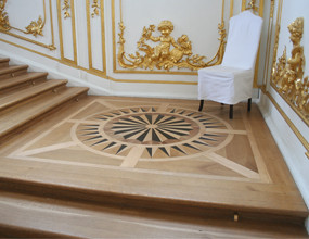 Luxury Home Marquetry Wood Inlay