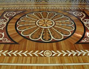 Design Solid Wood Floor For living Room
