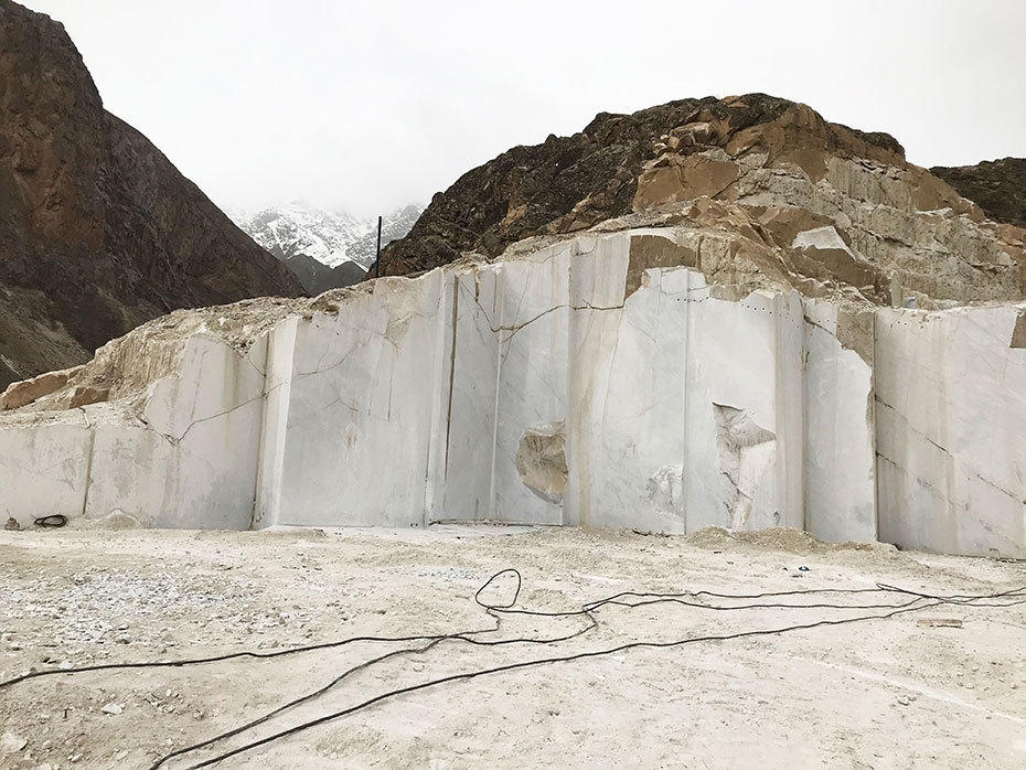 PFM Developed Limestone And marble Quarries In Tajikistan