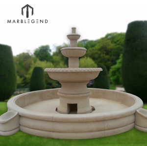 Wholesale Outside Garden Marble Water Fountain Supplier