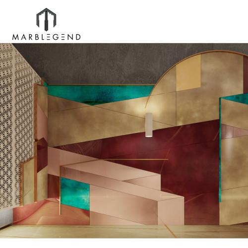التصاميم الداخلية لغرفة PFM في الدوحة لتصميم الطابق السفلي