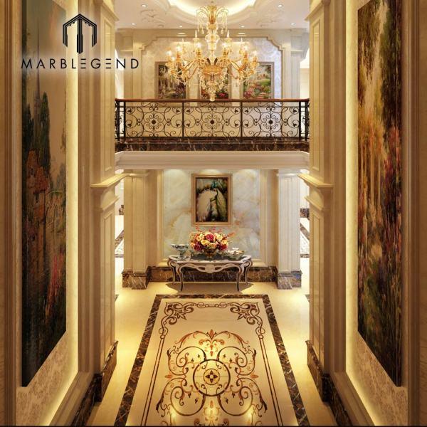 Роскошная вилла в европейском стиле. Архитектура интерьера и экстерьера.