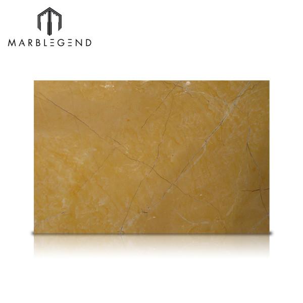 Оформление интерьера Натуральные испанские золотые мраморные плиты Amarillo Mares