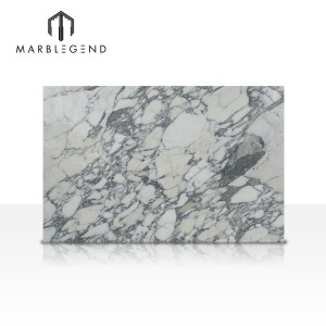 Italy Arabescato white Marble Slabs with light grey veins