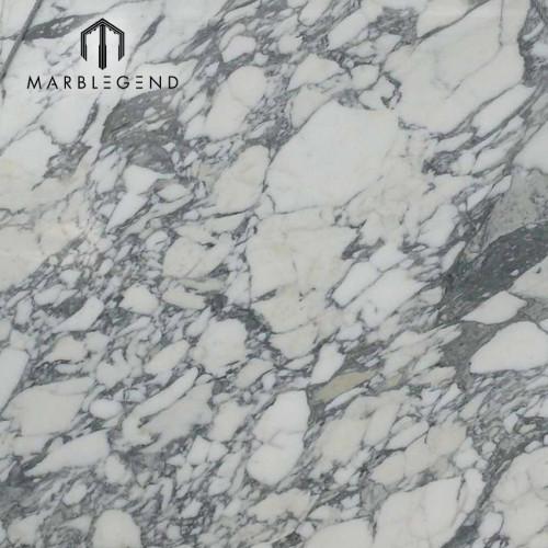 Italia Arabescato Losas de mármol blanco con vetas de color gris claro