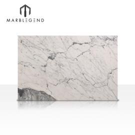 Decoración interior residencial y comercial de losa de mármol de Carrara Venato.