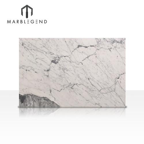 Residential and commercial interior decor Carrara Venato marble slab