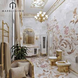 PFM Роскошный частный дворец дизайн ванной комнаты проект услуги