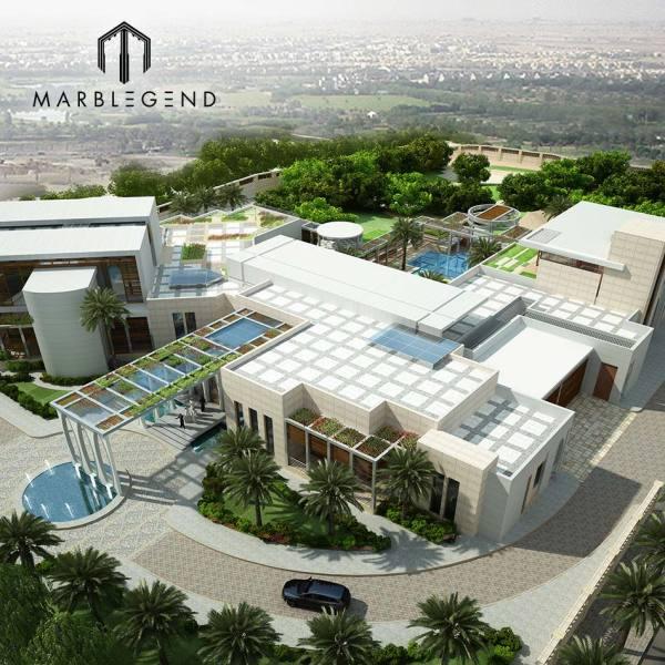 PFM Luxury villa exterior wall 3D design services project