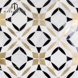 Recién diseñado caleidoscopio magnifique mármol azulejo mosaico de chorro de agua