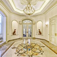 Marble Floor Designs for That Plush Look