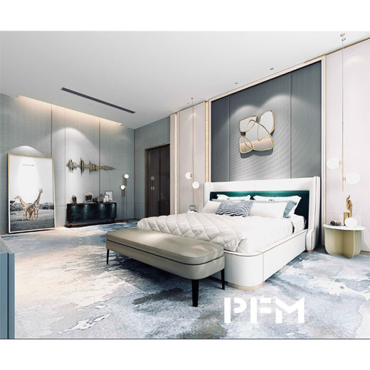 When comfort combines with light luxury