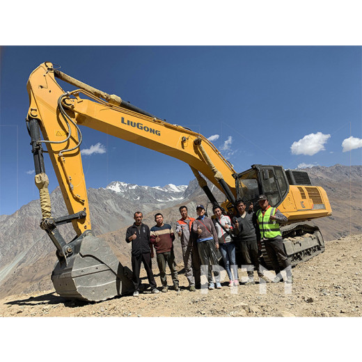 Miss Susan visited Tajikistan Quarry on Sep. 06,2019