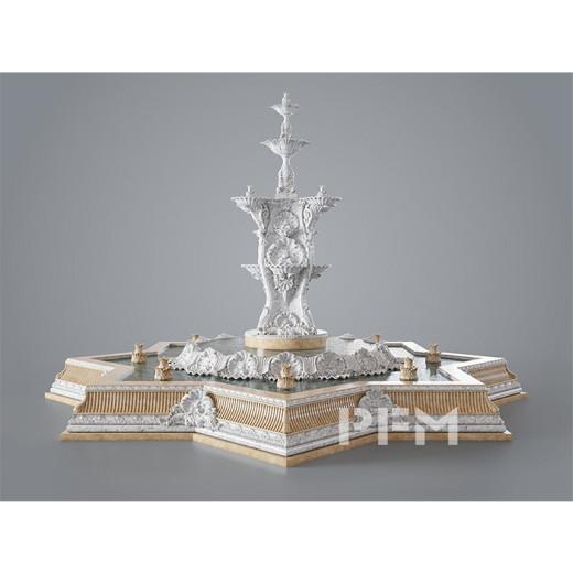 How PFM build up a huge fountain  ?
