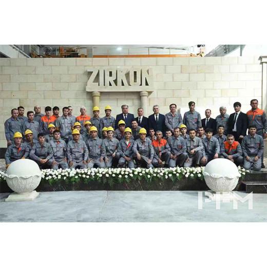 PFM Tajikistan joint venture factory opening ceromony