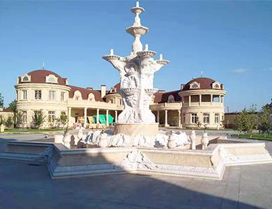 Chechnya Fountain & Decoration marble fountain