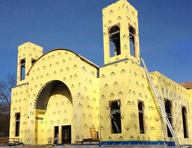 Установка коптской православной церкви